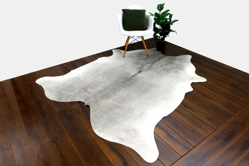 COWHIDE NATURAL GREY & WHITE 04