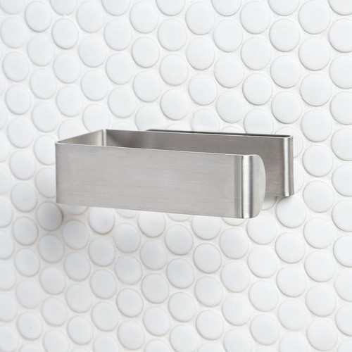 FOLD Toilet Roll Holder -  (Stainless)
