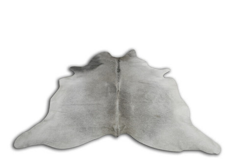 COWHIDE NATURAL GREY & WHITE 10