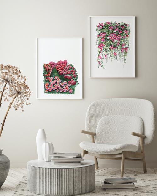 Beauty Pair Printed Artwork