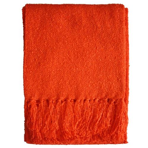 orange throw