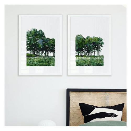 Forest Pair Printed Artwork