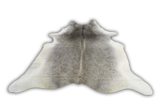 COWHIDE NATURAL GREY & WHITE 14