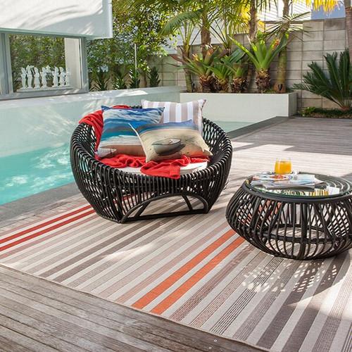 cream red multi indoor outdoor rug