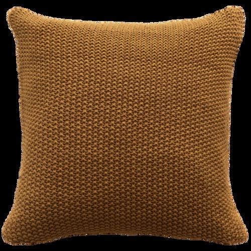 Saddle brown cushion