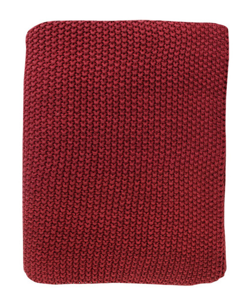 Chilli/Red throw