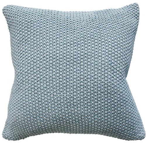 duck egg blue cushion