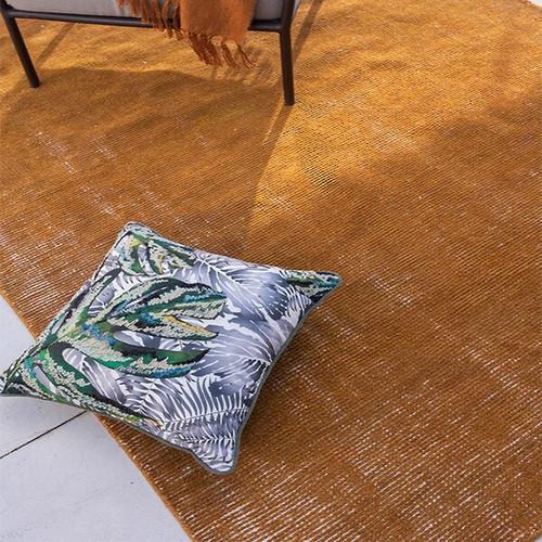 ochre indoor outdoor rug