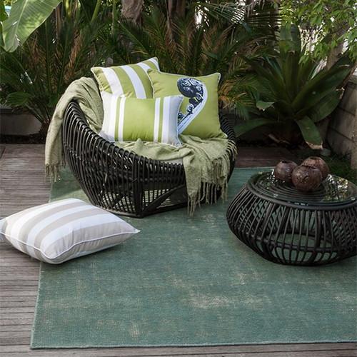 green indoor outdoor rug
