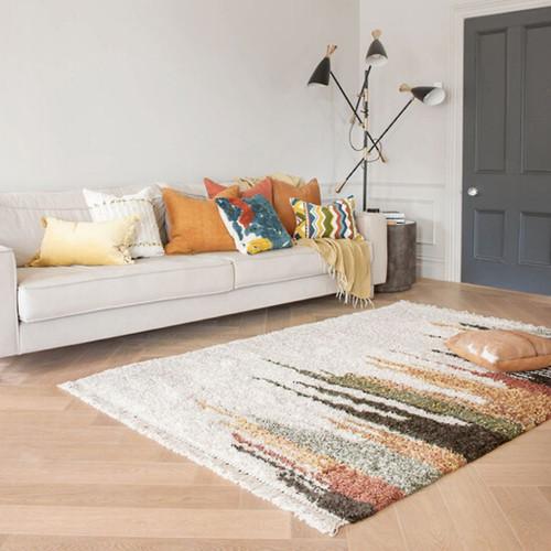 Cream/Multi rug