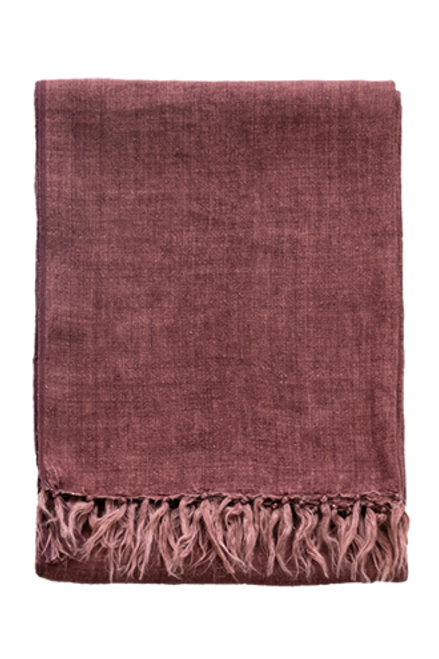 Red Clay throw