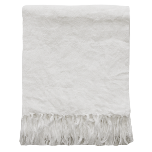 Indira Throw - White