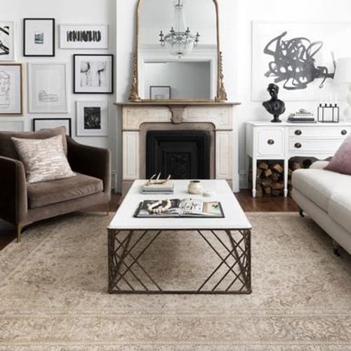Loren Flooring Rug - Sand / Taupe