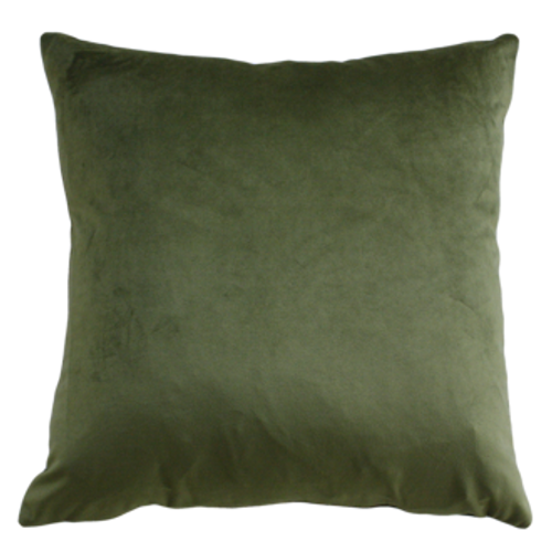 Khaki/green cushion