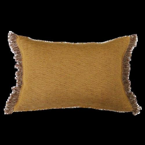 Ochre/Fawn cushion