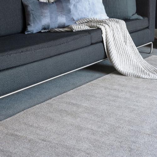 Natural blend bamboo/wool rug