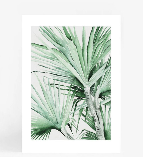 Spike Palm Printed Artwork