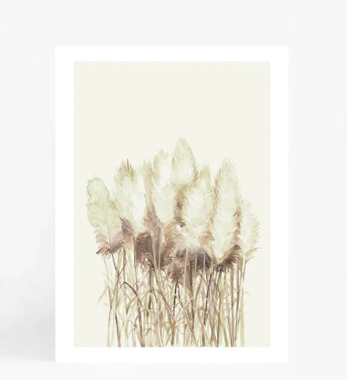 Fluffy Toi Toi Printed Artwork
