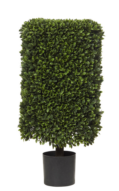Artificial Box Hedge Topiary Plant