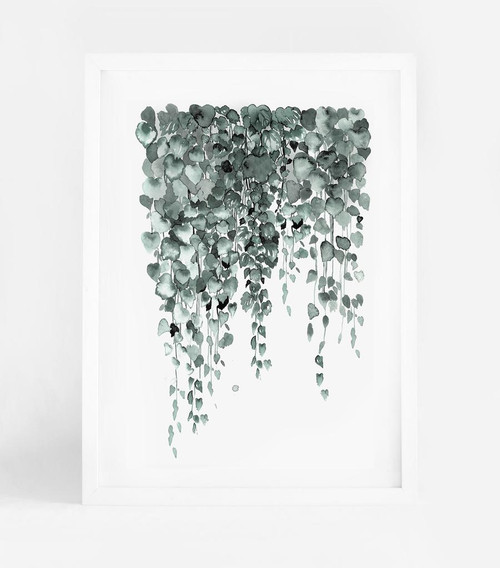 Falling Leaves Printed Artwork