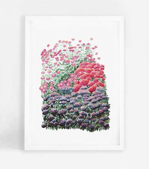 Eden Garden 2 Printed Art