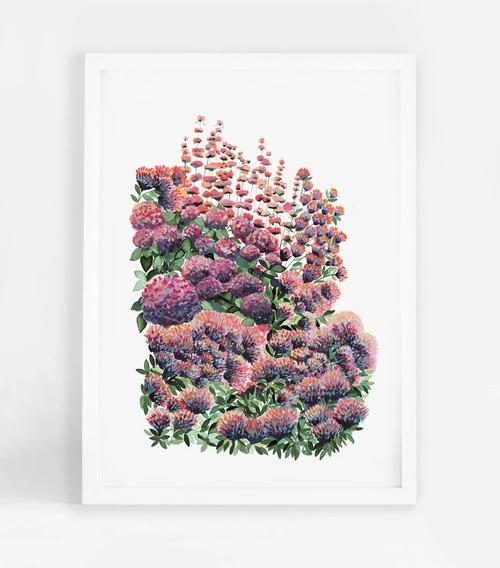 Eden Garden 3 -Printed Art