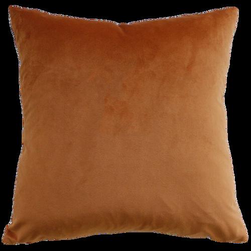 nutmeg/brown cushion