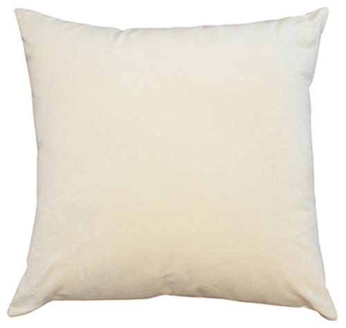 Champagne white cushion