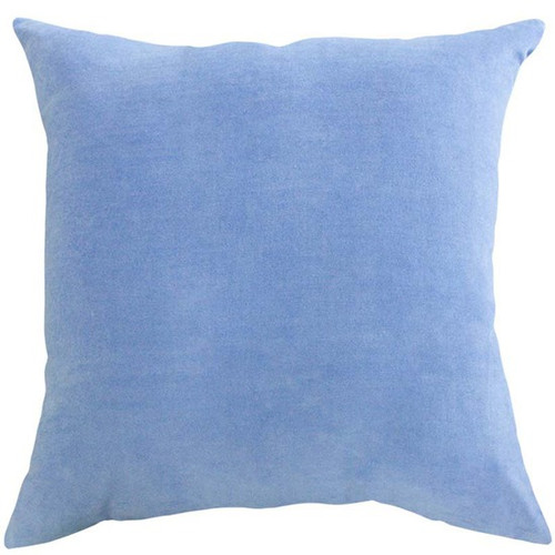 Serenity blue cushion