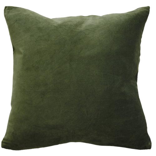 Khaki dark cushion