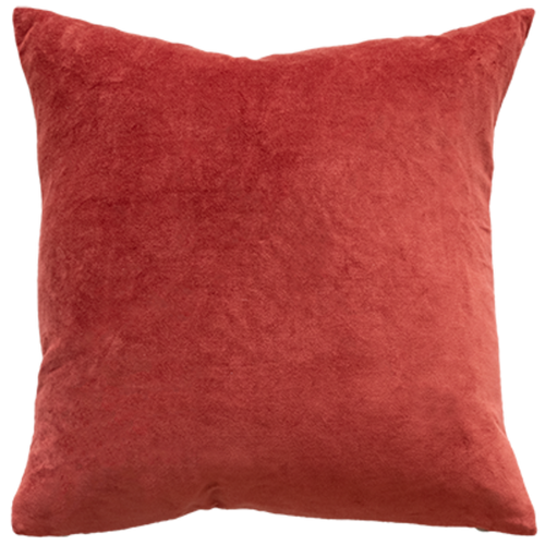 Cayenne red cushion