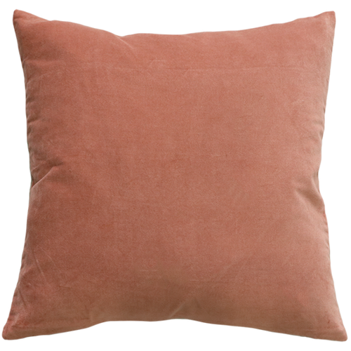 light pink cushion