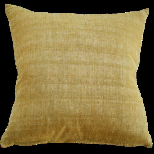 Ochre cushion