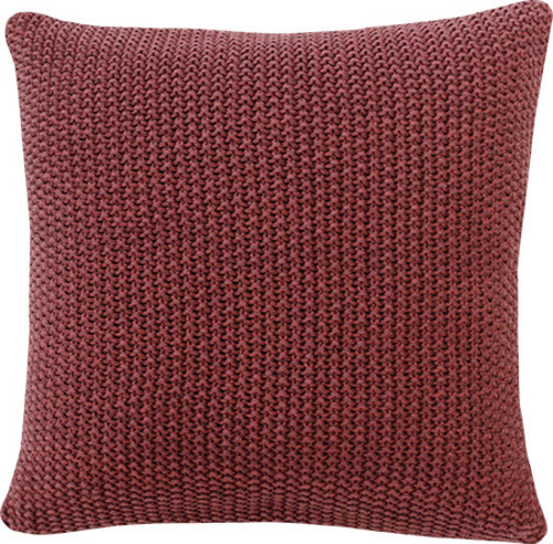 Marsala red cushion