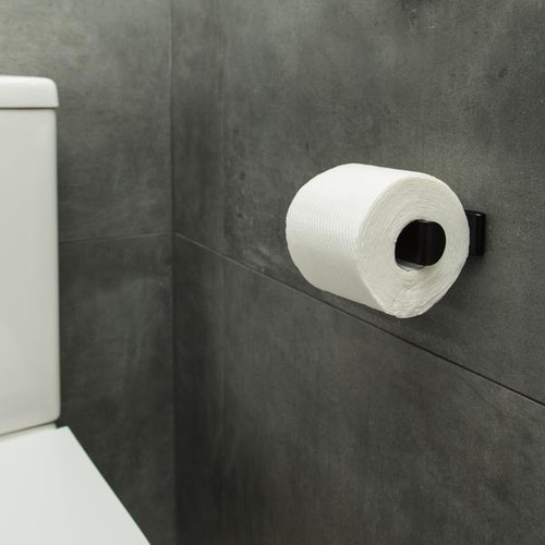 FOLD Toilet Roll Holder -  (Black)