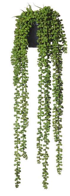 Artificial  Hanging Pearls - Garden Pot