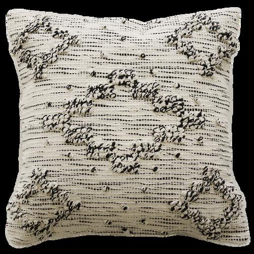Cushion - Cream/Black