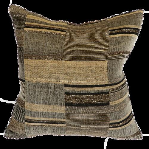 Kentucky Cushion - Black/Straw