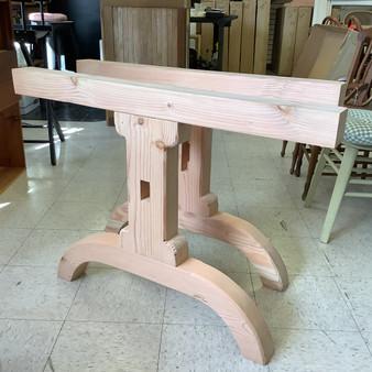 """Douglas Fir """"Shaker Arch"""" Wooden Table Legs"""