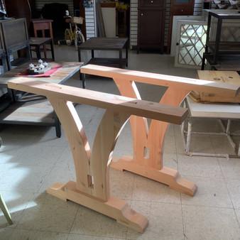 """Douglas Fir """"Saint Helena"""" Wooden Table Legs"""