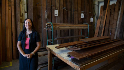 Hammer & Nails: Women in the Trades