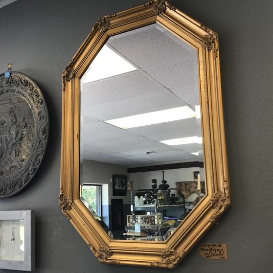 Antique Gold Gilt Mirror