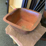 Square Antique Hand Forged Copper Sink