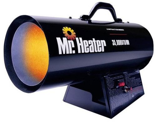 Heater Forced Air 35000 BTU Propane