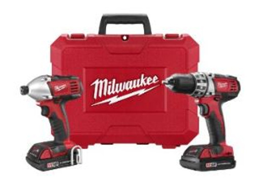Compact Drill 1/2in & Driver Kit Milwaukee 2691-22