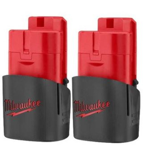 Battery 2 Pack M12 Milwaukee 48-11-2411