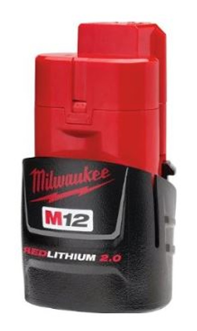 M12 Red Lithium 2.0 Compact Battery Pack Milwaukee 48-11-2420