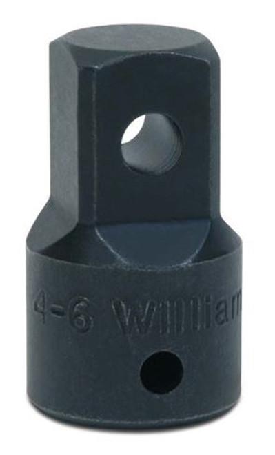 Socket Impact Adapter 1/2 Dr 1/2F X 3/4M Williams 4-6