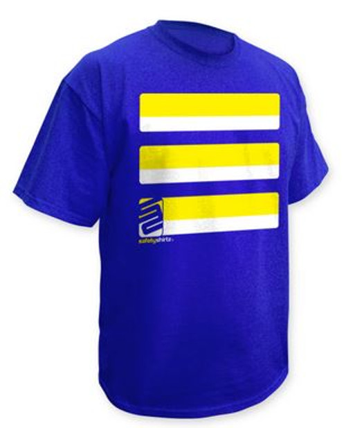 Basic T-Shirt- Yellow/ Blue