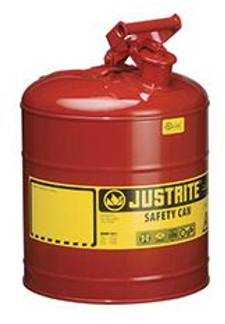 Gas Can 5 Gal. Metal Justrite 7150100 (26382)